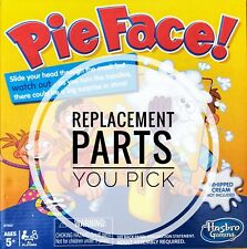 Pie Face Game Replacement Pieces Hasbro 2014 - You Choose What you Need