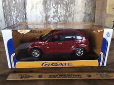 NIB Gate 2001 Chrysler PT Cruiser  Die-Cast 1:18 Toy Car  Red
