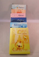 Pocket Telephone Books With Pencil In 6 Different Designs  X6