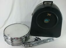 "Vintage Ludwig Acrolite 14"" Snare Drum blue and olive badge"