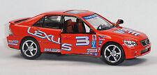 Nuevo: Lexus is 300 coches de carreras modelo de coleccionista 1:36 naranja de Kinsmart