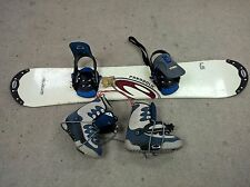 Snowboard Package  w/Burton Step-In Snowboard Boots & Bindings