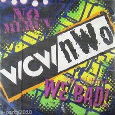 WCW / nWo WRESTLING SMALL NAPKINS (16) ~ Vintage Birthday Party Supplies Dessert