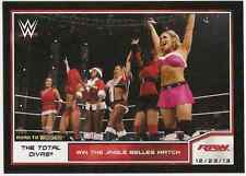 2014 Topps WWE Road to Wrestlemania #66 The Total Divas