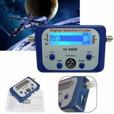 LCD Digital Satellite Finder Meter Signal Strength Dish Sat Directv Compass QD