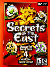 Secrets of the East  PC Software NEW Sealed CD Rom