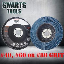 """Swarts Tools 4"""" 100mm Cubic Zirconia Flap Discs Wheels Super High Density"""