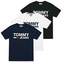 Tommy Hilfiger T-Shirt - Tommy Jeans Classic Logo Tee - Black, White, Navy