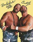 The Bushwhackers Luke & Butch Signed WWE 8x10 Photo PSA/DNA COA Picture Auto'd 1