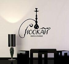 Vinyl Wall Decal Hookah Bar Lounge Shisha Arabic Smoking Cafe Stickers (ig3586)