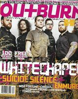 Outburn Magazine Whitechapel Suicide Silence Emmure Miss Fortune Chiodos 2014