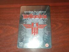 IBM PC CD ROM STEELBOOK LIMITED EDITION GAME - RETURN TO CASTLE WOLFENSTEIN