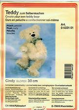 ♥ Bärenbastelpackung ♥ Bären selber machen ♥ Glorex ♥ Cindy 30 cm ♥ gelockt ♥