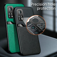 For Xiaomi Mi 10T Pro 5G Magnetic Matte Leather Case Camera Protection Cover
