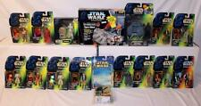 Lot of 16 Star Wars POTF2 Millennium Falcon Vader Han Solo & More NO RESERVE!
