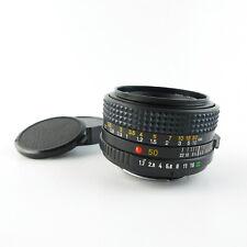 Für Minolta MD 1:1.7/50mm Objektiv lens 6 Blades + caps