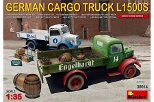 MiniArt 38014 1/35 German Cargo Truck L1500S