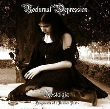 "NOCTURNAL DEPRESSION - ""Nostalgia - Fragments of a Broken Past"" CD,neu"