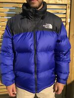 'The North Face' 700 Down Fill Nupste Puffer  Blue XL Mens