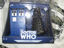 Doctor who   Tardis and Black dalek sec bluetooth  speaker figures