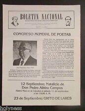 BOLETIN NACIONAL / PARTIDO NACIONALISTA DE PUERTO RICO / NEWSLETTER / AUG 1982