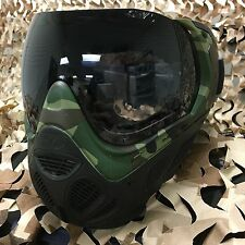 NEW Sly Profit Thermal Anti-Fog Paintball Mask Goggle Series - Woodland Camo