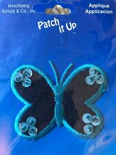 Butterfly patch Embroidered with beads Iron On Patch New