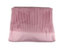 """Fantagraph Patient Room Divider Cubicle Privacy Curtains 144"""" x 80"""" Mauve Pink"""