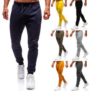 Trainingshose Sporthose Jogginghose Fitness Sport Slim Fit Herren BOLF 6F6 Basic