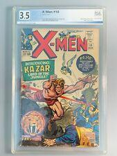 X-Men 10 - PGX 3.5 - First appearance of Ka-Zar; First appearance of Zabu - 1965
