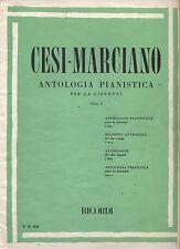 CESI-MARCIANO - Antologia pianistica per la gioventu' Fasc. 1 - SPARTITO SHEET