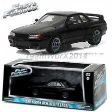 GREENLIGHT 86229 1989 Nissan Skyline - Furious 7 Diecast Model Car 1:43 NEW!