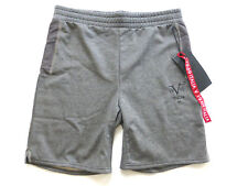 $80 Versace V 19.69 Italia Mens S Performance Fleece Mesh Panel Knit Shorts New