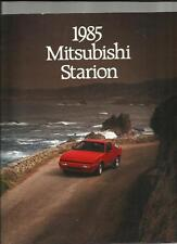 MITSUBISHI STARION OVERSIZED SALES BROCHURE 1985 MAINLY ENGLISH LANGUAGE FOR USA
