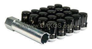 McGard Spline Drive Lugs (Black, 12x1.5mm, Set/20) Fits: Honda Mitsubishi Focus
