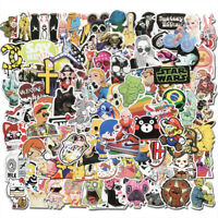 100Pcs Vinyl Graffiti Sticker Bomb Skateboard Luggage Laptop Car Decals Dope Lot