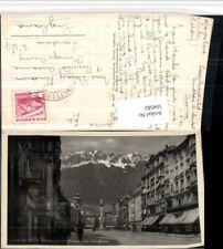 504582,Innsbruck Maria Theresienstraße m. Nordektte Bergkulisse Mutters Stempel