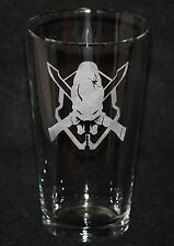 Halo Legendary Symbol Custom Etched Pint Glass