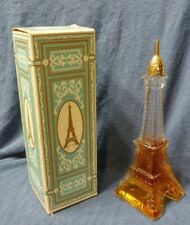1970 Used- Avon- Eiffel Tower- Paris France- Cotillion Cologne- In Original Box