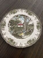 Johnson Brothers Friendly Village The Stone Wall Dinner Plate, 10   -ENGLAND