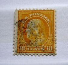 1917, US, 10 cent used Benjamin Franklin