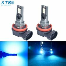 H11 8000k Ice Blue 200W High Power LED Fog Light Car Driving Bulb DRL LD2269 x2