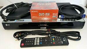 LG DVD RECORDER LRA-760 Bundle remote HDMI coaxial & AV cables TESTED working A1