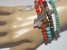 Tibetan Silver Beads Handcrafted Bracelets