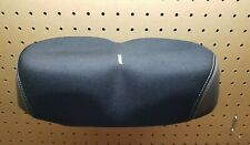 """Schwinn Noseless Bicycle seat Classic Black Wide Comfort Saddle 14"""" wide great"""