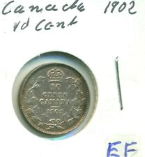 Canada 1902 10 cents EF