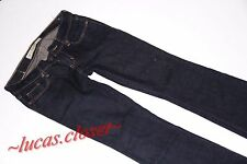 Abercrombie & Fitch size 00 w24 boot cut  Leg  Jeans dark navy blue