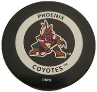 PHOENIX COYOTES OFFICIAL GAME PUCK NHL GARY B. BETTMAN INGLASCO VINTAGE 🇨🇦