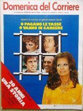La Domenica del Corriere 17 Agosto 1978 Fisco Evasione Telefono SIP Popeye Falk