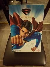 "Superman Returns: Superman 13"" Inch Deluxe Collector Figure  DC Direct 2006 NEW"